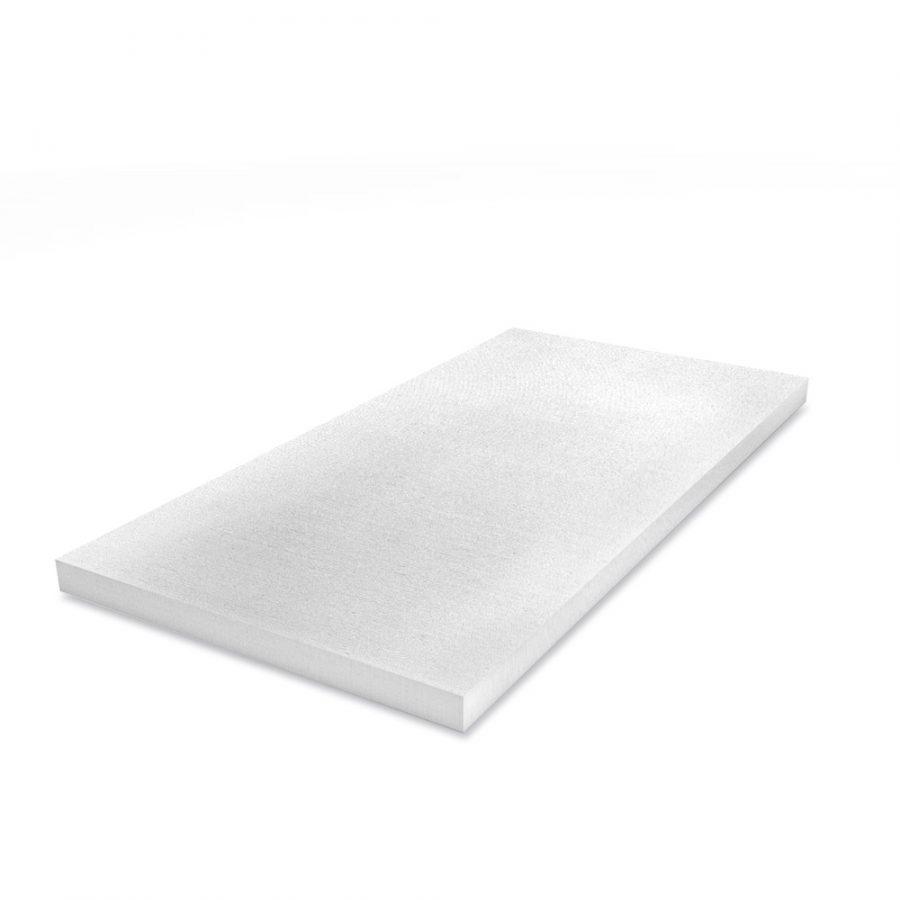 Weiße Klimaplatte mit einer Stärke von 50mm