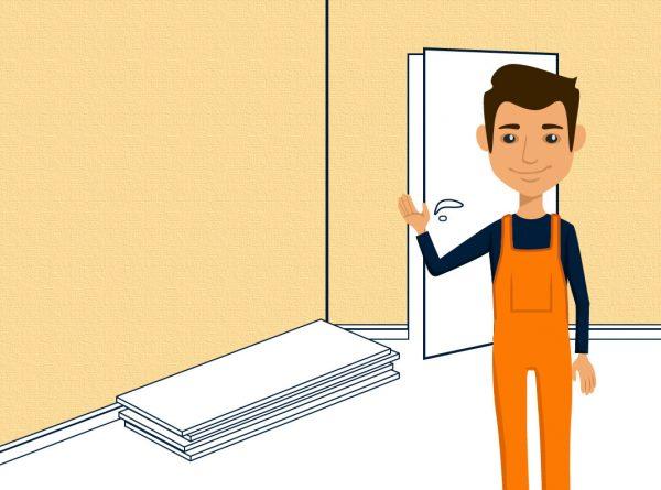 Calciumsilikat Klimaplatten abringen - in nur wenigen Schritten zur schimmelfreien und gedämmten Wand