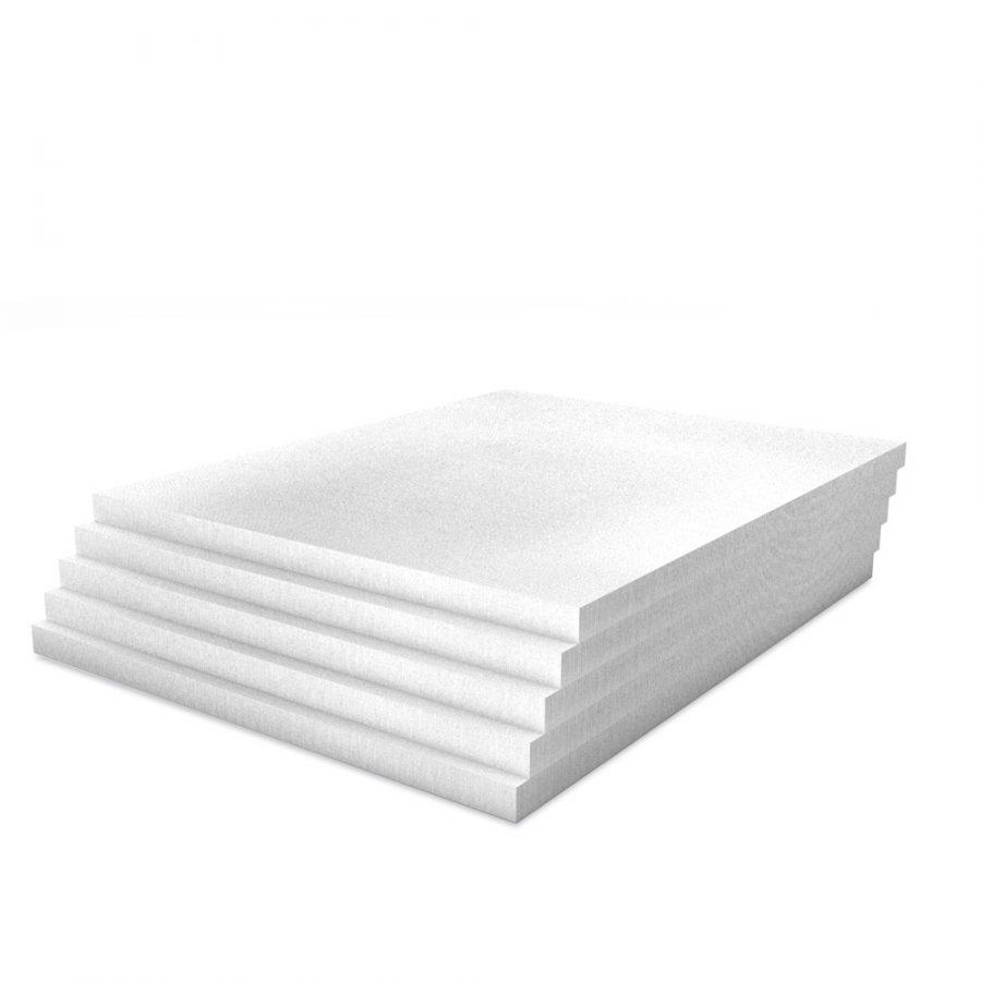 Kalziumsilikatplatten für die Innendämmung mit 25mm Stärke in weißgrau im Mehrpack