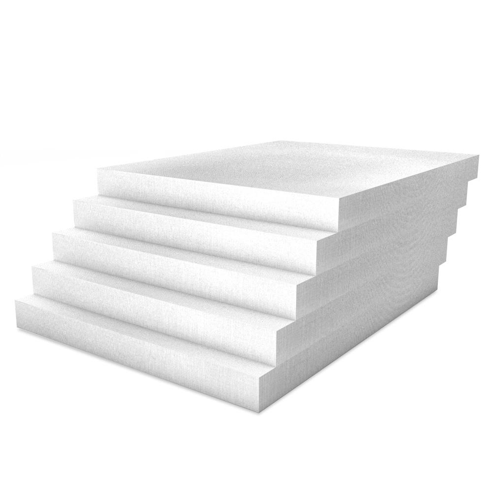 Kalziumsilikatplatten für die Innendämmung mit 50mm Stärke in weißgrau im Mehrpack