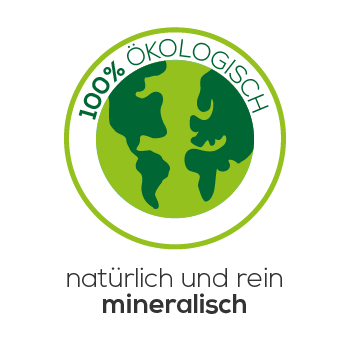 100% Ökologisch & mineralisch Icon