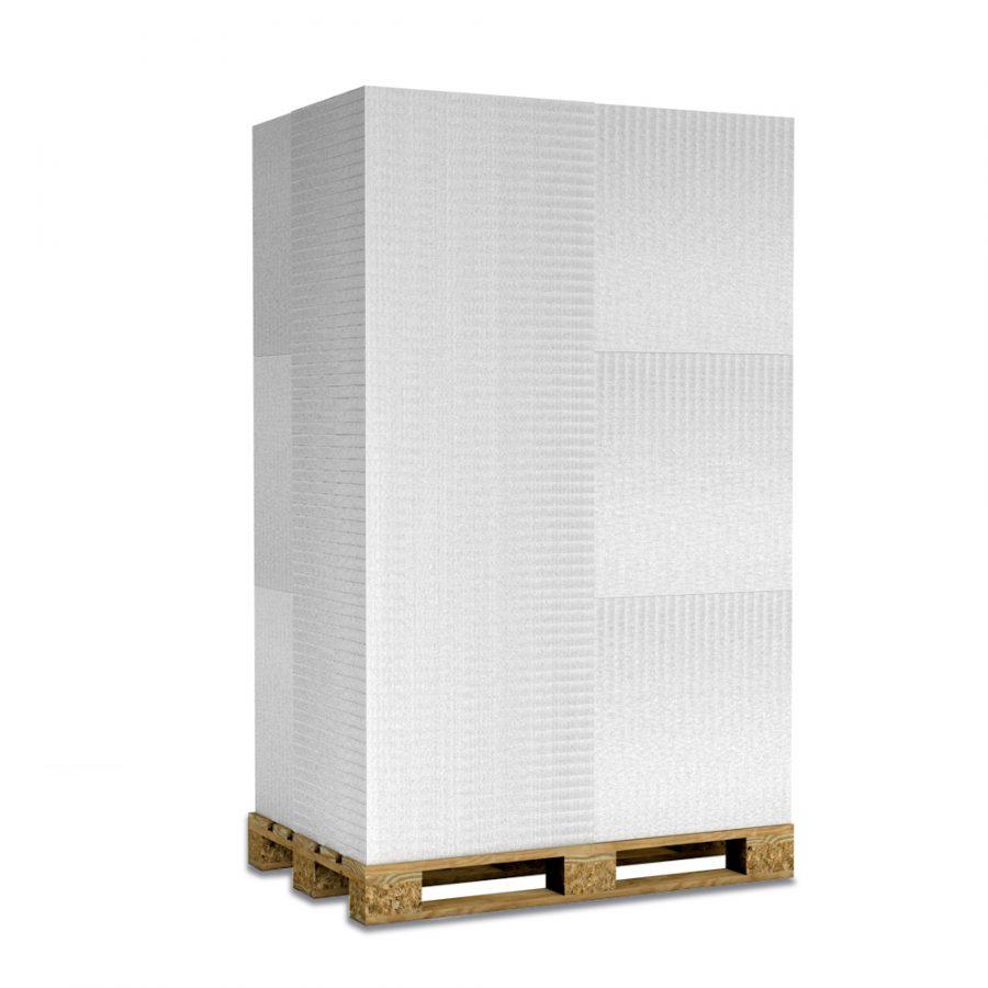 Kalziumsilikatplatten zur Innendämmung und Schimmelsanierung in 30mm als Palettenware (weissgrau 625mm x 500mm) für Großkunden und/oder Gewerbe
