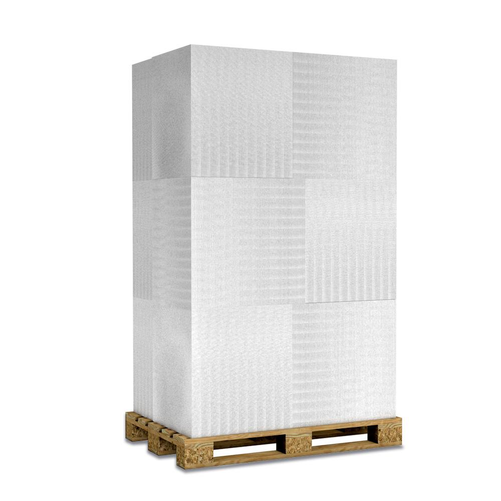 Kalziumsilikatplatten zur Innendämmung und Schimmelsanierung in 50mm als Palettenware (weissgrau 625mm x 500mm) für Großkunden und/oder Gewerbe