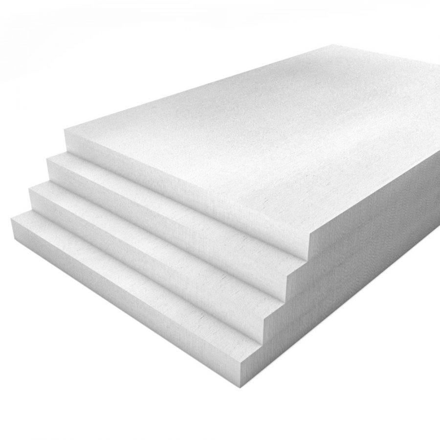 Kalziumsilikatplatten vorgrundiert im Format 1000 x 625 50 mm