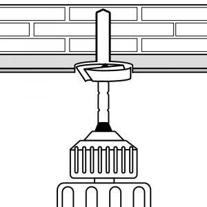 Decken- und Wandschrägen Verarbeitung (Schritt 2)