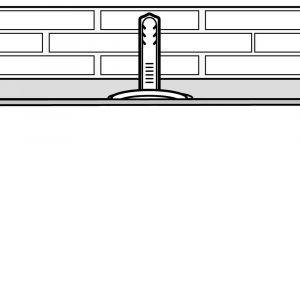 Decken- und Wandschrägen Verarbeitung (Schritt 6)