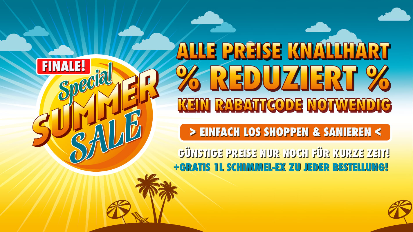 Klimaplatten Special Summer Sale Finale